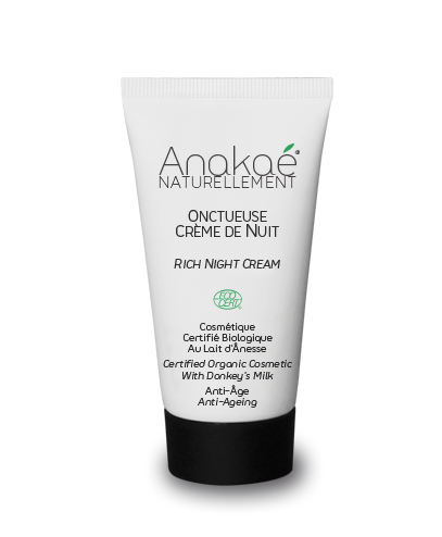 Donkey Milk rich night cream - anti-ageing  To wake up with a fresh and regenerated skin !